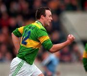 National Football League, Section C, Dublin v Kerry, Parnell Park. 15/3/98. Kerry's John Crowley celebrates his early goal against Dublin.  Photograph ©ÊBrendan Moran SPORTSFILE.