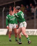 Church & General National Hurling League Offaly v Limerick 8/3/1998 Action Features Limerick's Mike Galligan Photograph Matt Browne SPORTSFILE.