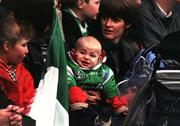 National Hurling League, Limerick v Clare, Gaelic Grounds. 22/3/98. Limerick fan. Photograph © Damien Eagers SPORTSFILE.