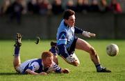 Paddy Christie Dublin Football in action against Laois  Photograph Ray McManus SPORTSFILE