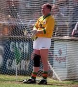 Pat Doran Carlow football goalkeeper, ( VLouth, Newbridge, 1/6/97) Leinster Football Championship. Photograph Brendan Moran SPORTSFILE