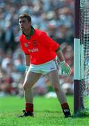 Peter Burke Mayo goalkeeper ( V Galway, Tuam, 25/5/97).  Photograph Ray McManus SPORTSFILE.