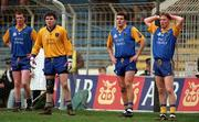 From left to right Wicklows Seamus Miley, Ken Quirke, Philip McGillycuddy and Damien McMahon.  Photograph Ray McManus SPORTSFILE