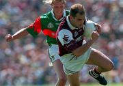 Ray Silke Galway Football in action against Ciaran McDonald Mayo, Tuam, 25/5/97). Photograph Ray McManus SPORTSFILE.