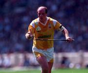 Terence McNaughton Antrim Hurling. Photograph Ray McManus SPORTSFILE.