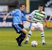 18 April 2008; Shane Fitzgerald, UCD, in action against Eric McGill, Shamrock Rovers. eircom league of Ireland Premier Division, Shamrock Rovers v UCD, Tolka Park, Dublin. Picture credit; Stephen McCarthy / SPORTSFILE