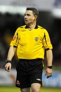 18 April 2008; Referee Damien Hancock. eircom league of Ireland Premier Division, Shamrock Rovers v UCD, Tolka Park, Dublin. Picture credit; Stephen McCarthy / SPORTSFILE