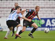 25 April 2008; John Paul Kelly, Bohemians, in action against Owen Morrison, Derry City. eircom league Premier Division, Bohemians v Derry City, Dalymount Park, Dublin. Picture credit; David Maher / SPORTSFILE