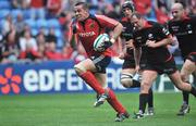 27 April 2008; Alan Quinlan, Munster, races through to score his side's second try. Heineken Cup Semi-Final, Saracens v Munster, Ricoh Arena, Coventry, England. Picture credit: Brendan Moran / SPORTSFILE *** Local Caption ***