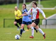 11 April 2015; Ciara O'Connell, UCC, in action against UCD. WSCAI Intervarsities Cup Final, UCD v UCC, Waterford IT, Waterford. Picture credit: Matt Browne / SPORTSFILE