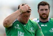 25 April 2015; A disappointed Eoin McKeon, Connacht, at the end of the game. Guinness PRO12, Round 20, Connacht v Glasgow Warriors. Sportsground, Galway. Picture credit: Oliver McVeigh / SPORTSFILE
