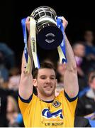 26 April 2015; Roscommon captain Niall Carty lifts the cup following his side's victory. Allianz Football League, Division 2, Final, Down v Roscommon. Croke Park, Dublin. Picture credit: Ramsey Cardy / SPORTSFILE