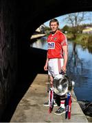 27 April 2015; In attendance at a photocall ahead of the Allianz Hurling League Division 1 Final this weekend is Cork's Lorcan McLoughlin. Croke Park, Dublin. Picture credit: Ramsey Cardy / SPORTSFILE