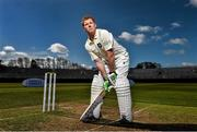 28 April 2015; Kevin O'Brien, Leinster Lightning, in attendance at the launch of the 2015 Hanley Energy Inter-Provincial Series. Malahide Cricket Club, Malahide, Co. Dublin. Picture credit: David Maher / SPORTSFILE