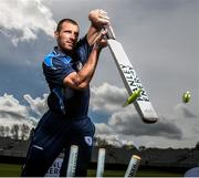 28 April 2015; Max Sorenson, Leinster Lightning, in attendance at the launch of the 2015 Hanley Energy Inter-Provincial Series. Malahide Cricket Club, Malahide, Co. Dublin. Picture credit: David Maher / SPORTSFILE