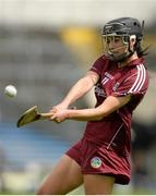 3 May 2015; Niamh McGrath, Galway. National Camogie League, Division 1 Final, Cork v Galway. Semple Stadium, Thurles, Co. Tipperary. Picture credit: Cody Glenn / SPORTSFILE