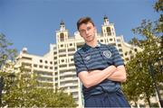 6 May 2015; Republic of Ireland's Conor Masterson after a press conference ahead of their UEFA European Under-17 Championship Group D match against The Netherlands. Republic of Ireland Under-17 Pre-Tournament Press Conference, Sunset Resort hotel, Pomorie, Bulgaria. Picture Credit; Pat Murphy / SPORTSFILE