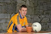 11 May 2015; Enda Coughlan, Clare, in attendance at the 2015 Munster GAA Senior Championships Launch. Blackrock Castle, Blackrock, Cork. Picture credit: Brendan Moran / SPORTSFILE