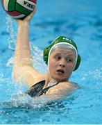 15 May 2015; Salina Smellers, Ireland, in action against Switzerland. Ireland Water Polo 8 Nations Tournament, Ireland v Switzerland. National Aquatic Centre, Dublin. Picture credit: Sam Barnes / SPORTSFILE