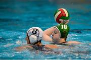 15 May 2015; Rachel Murphy, Ireland, in action against Nathalie Mäder, Switzerland. Ireland Water Polo 8 Nations Tournament, Ireland v Switzerland. National Aquatic Centre, Dublin. Picture credit: Sam Barnes / SPORTSFILE