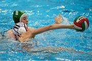 15 May 2015; Sinead Mcardle, Ireland, in action against Melanie Adler, Switzerland. Ireland Water Polo 8 Nations Tournament, Ireland v Switzerland. National Aquatic Centre, Dublin. Picture credit: Sam Barnes / SPORTSFILE