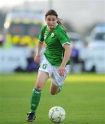 25 June 2008; Katie Taylor, Republic of Ireland. UEFA Women's European Championship Qualifier, Group 2, Republic of Ireland v Sweden, Carlisle Grounds, Bray, Co. Wicklow. Picture credit: Stephen McCarthy / SPORTSFILE