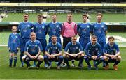 17 May 2015; The Crumlin United team. FAI Umbro Intermediate Cup Final, Tolka Rovers v Crumlin United. Aviva Stadium, Lansdowne Road, Dublin. Picture credit: David Maher / SPORTSFILE