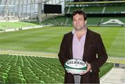 19 May 2015; David Nucifora, IRFU Performance Director, in attendance at the launch of the Ireland Men's Rugby Sevens Squad. Aviva Stadium, Lansdowne Road, Dublin. Picture credit: Piaras Ó Mídheach / SPORTSFILE