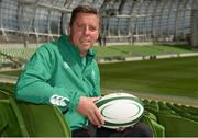 19 May 2015; In attendance at the launch of the Ireland Men's Rugby Sevens Squad is Anthony Eddy, IRFU Director of Rugby Sevens. Aviva Stadium, Lansdowne Road, Dublin. Picture credit: Piaras Ó Mídheach / SPORTSFILE