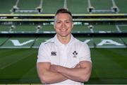 19 May 2015; In attendance at the launch of the Ireland Men's Rugby Sevens Squad is Matthew D'Arcy, St Mary's and Leinster. Aviva Stadium, Lansdowne Road, Dublin. Picture credit: Piaras Ó Mídheach / SPORTSFILE