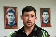 19 May 2015; Munster's Felix Jones speaking during a press conference. Thomond Park, Limerick. Picture credit: Diarmuid Greene / SPORTSFILE
