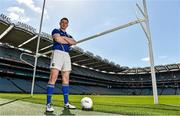 21 May 2015; Longford footballer Michael Quinn during the Leinster Hurling and Football Championship preview. Croke Park, Dublin. Picture credit: Matt Browne / SPORTSFILE