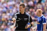 24 May 2015; Referee Padraig Hughes. Ulster GAA Football Senior Championship Quarter-Final, Cavan v Monaghan. Kingspan Breffni Park, Cavan. Picture credit: David Maher / SPORTSFILE