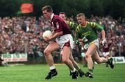 2 July 1994; Galway's Niall Finnegan gets away from Leitrim's Declan Darcy. Connacht Football Championship semi-final, McDiarmuid Park, Carrick-on-Shannon, Co. Leitrim. Picture credit; David Maher/SPORTSFILE