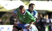 3 June 2000; Mick Galwey of Ireland is tackled by Argentina's Santiago Phelan, 6, and Gonzalo Quesada during the Rugby International match between Argentina and Ireland at Estadio Arquitecto Ricardo Etcheverri in Buenos Airies, Argentina. Photo by Matt Browne/Sportsfile