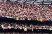 18 June 1994; Republic of Ireland supporters prior to the FIFA World Cup 1994 Group E match between Republic of Ireland and Italy at Giants Stadium in New Jersey, USA. Photo by David Maher/Sportsfile