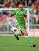 17 July 2008; Dan Murray, Cork City. UEFA Cup First Qualifying Round, 1st Leg, Cork City v FC Haka, Turners Cross, Cork. Picture credit: Stephen McCarthy / SPORTSFILE