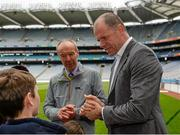 30 May 2015; Derry great Anthony Tohill at today's Bord Gáis Energy Legends Tour at Croke Park where he relived some of most memorable moments from his playing and managerial career. All Bord Gáis Energy Legends Tours include a trip to the GAA Museum, which is home to many exclusive exhibits, including the official GAA Hall of Fame. For booking and ticket information about the GAA legends for this summer's tours visit www.crokepark.ie/gaa-museum. Croke Park, Dublin. Picture credit: Piaras Ó Mídheach / SPORTSFILE