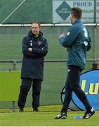 1 June 2015; Republic of Ireland manager Martin O'Neill during squad training. Republic of Ireland Squad Training, Gannon Park, Malahide, Co. Dublin. Picture credit: David Maher / SPORTSFILE