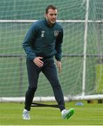 1 June 2015; Republic of Ireland's John O'Shea during squad training. Republic of Ireland Squad Training, Gannon Park, Malahide, Co. Dublin. Picture credit: David Maher / SPORTSFILE