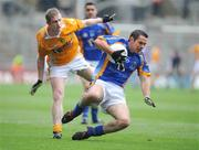 2 August 2008; John McGrath, Wicklow, in action against Paul Close, Antrim. Tommy Murphy Cup Final, Antrim v Wicklow, Croke Park, Dublin. Picture credit: Matt Browne / SPORTSFILE