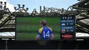 31 May 2015; A general view of the new screens at the corner of the Hogan and Davin Stands Leinster GAA Football Senior Championship, Quarter-Final, Dublin v Longford, Croke Park, Dublin. Picture credit: Ray McManus / SPORTSFILE