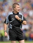 24 May 2015; Referee Padraig Hughes. Ulster GAA Football Senior Championship Quarter-Final, Cavan v Monaghan. Kingspan Breffni Park, Cavan. Picture credit: Oliver McVeigh / SPORTSFILE