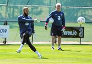 11 June 2015; Republic of Ireland's Darren Randolph during squad training. Gannon Park, Malahide, Co. Dublin. Picture credit: Seb Daly / SPORTSFILE