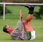 Mick McCarthy at training 26/8/96. Soccer. Pic David Maher SPORTSFILE
