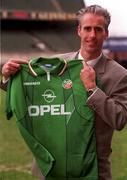 27/3/96; Mick McCarthy Republic of Ireland Manager. Soccer. Picture credit; David Maher/SPORTSFILE