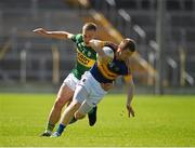 14 June 2015; Brian Fox, Tipperary, in action against Peter Crowley, Kerry. Munster GAA Football Senior Championship Semi-Final, Kerry v Tipperary. Semple Stadium, Thurles, Co. Tipperary. Picture credit: Ray McManus / SPORTSFILE