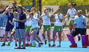 18 June 2015; Ireland players react during the penalty shoot out. Women's World League Round 3, Ireland v China. Valencia, Spain. Picture credit: David Aliaga / SPORTSFILE