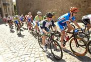 21 June 2015; Ireland's Eddie Dunbar during the Men's Cycling Road Race event. 2015 European Games, Baku, Azerbaijan. Picture credit: Stephen McCarthy / SPORTSFILE