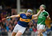 21 June 2015; Jason Forde, Tipperary, celebrates after scoring his side's third goal of the game. Munster GAA Hurling Senior Championship, Semi-Final, Limerick v Tipperary, Gaelic Grounds, Limerick. Picture credit: Brendan Moran / SPORTSFILE